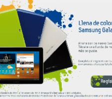 promocion samsung Funda gratis para el nuevo Samsung Galaxy Tab 10.1
