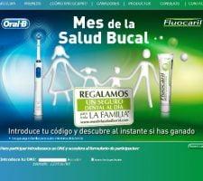 sorteo fluocaril Mes de la Salud Bucal con Fluocaril