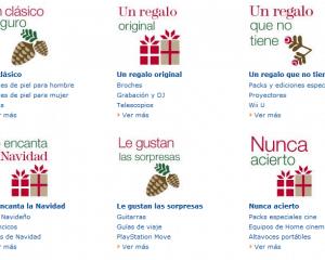 Ideas para regalos de Navidad y de Reyes