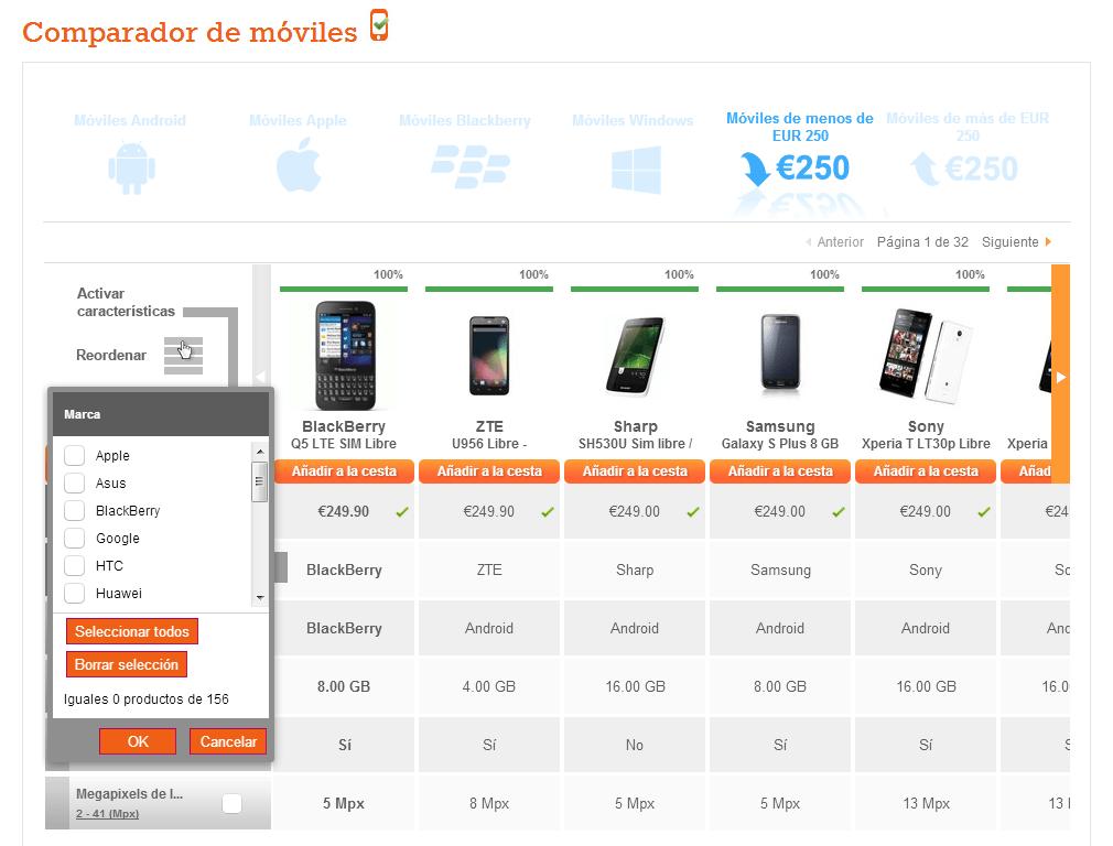 e5effd391f9 Comparador de teléfonos móviles honesto   Caza Chollos - Mejor ...