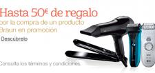 50 Euros de Regalo Braun e1417160720285 Promoción Afeitadoras Braun: Hasta 50€ de regalo