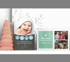 tarjeta de navidad Tarjetas navideñas personalizadas por 5,99 Euros con cupón de descuento!