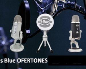 microfonos value basket Microfónos USB Yeti, Snowball, Nessie, Mikey para iPad de Blue en Oferta