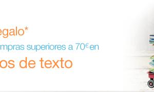 10 Euros libros de texto. Libros de texto - 10€ de regalo por compras superiores a 70€