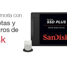 SanDisc Ofertas en memorias USB y Discos Duros SanDisk