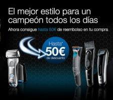 braun promocion afeitadoras Promoción Afeitadoras Braun: Hasta 50€ de Reembolso