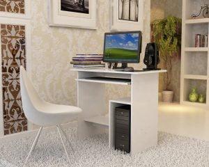 mesa ordenador escritorio songmics Escritorios baratos para la vuelta al Cole